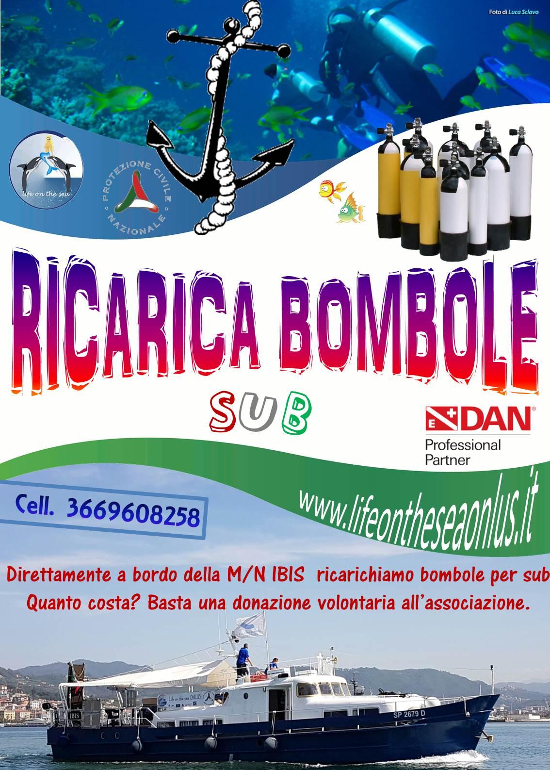 Ricarica bombole SUB