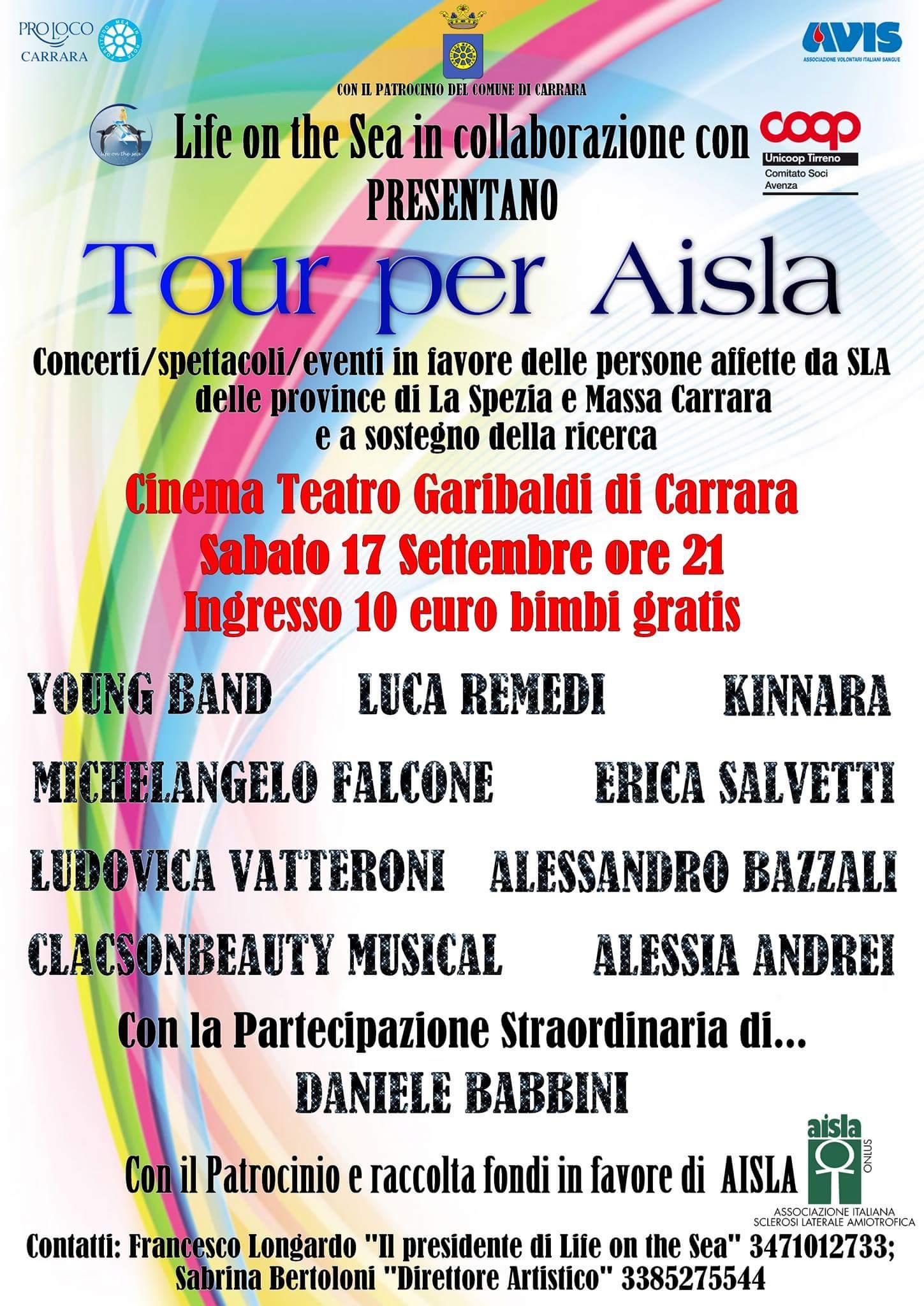11° Tour Raccolta fondi AISLA