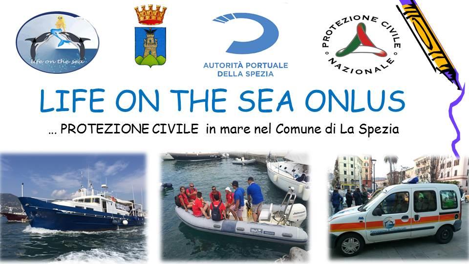 Da oggi …. anche Protezione Civile in mare nel Comune di La Spezia
