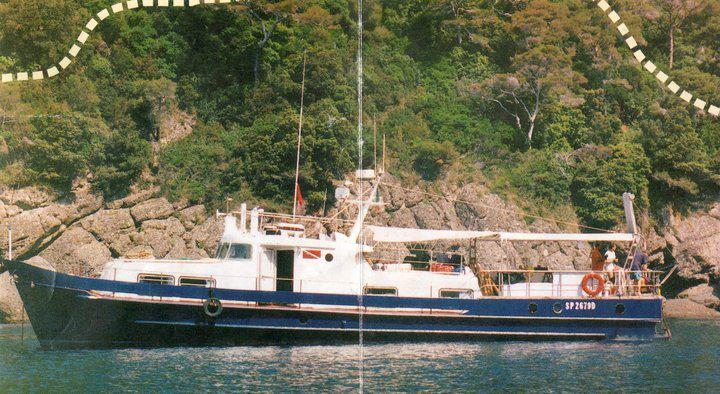 L'IBIS , il vaporetto del 1955 ancora oggi al servizio dei cittadini.