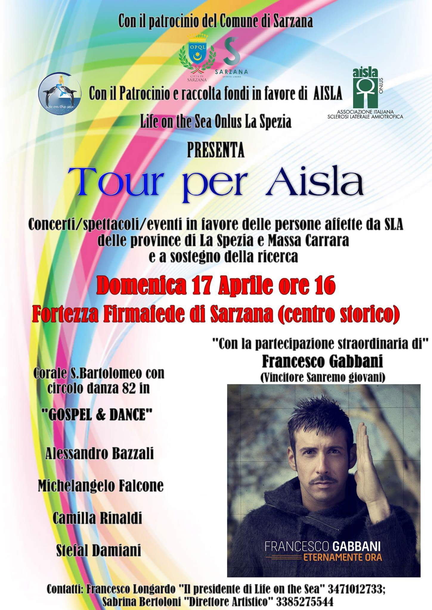 Tour per Aisla