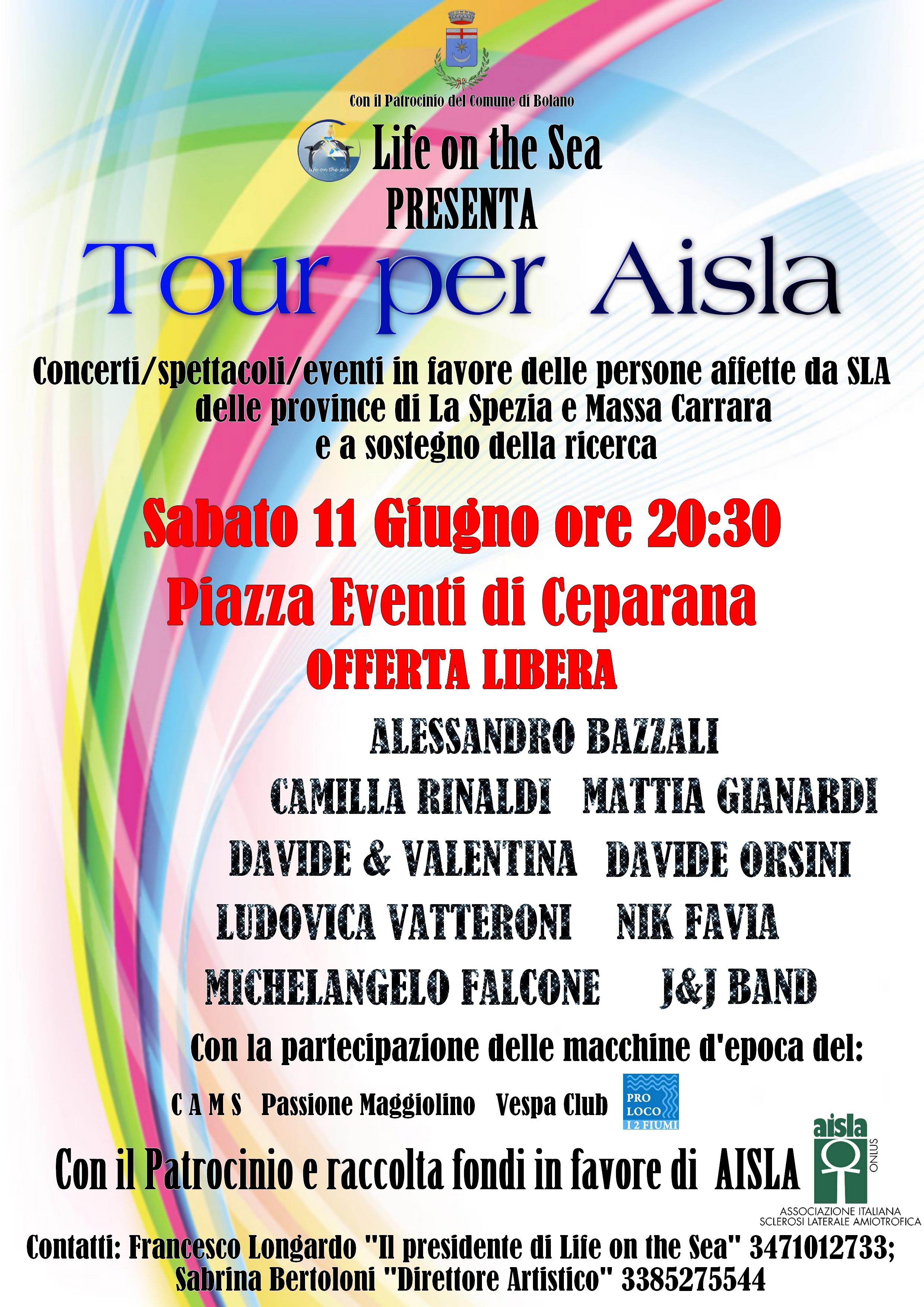 2° Tour – raccolta fondi SLA
