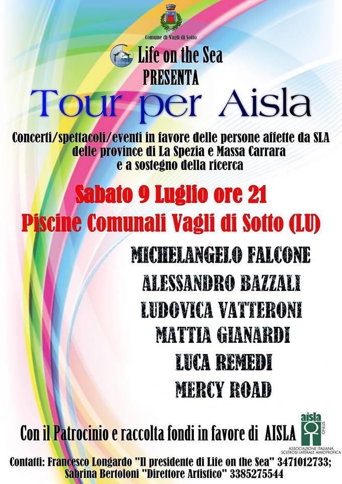 4° Tour Raccolta Fondi AISLA