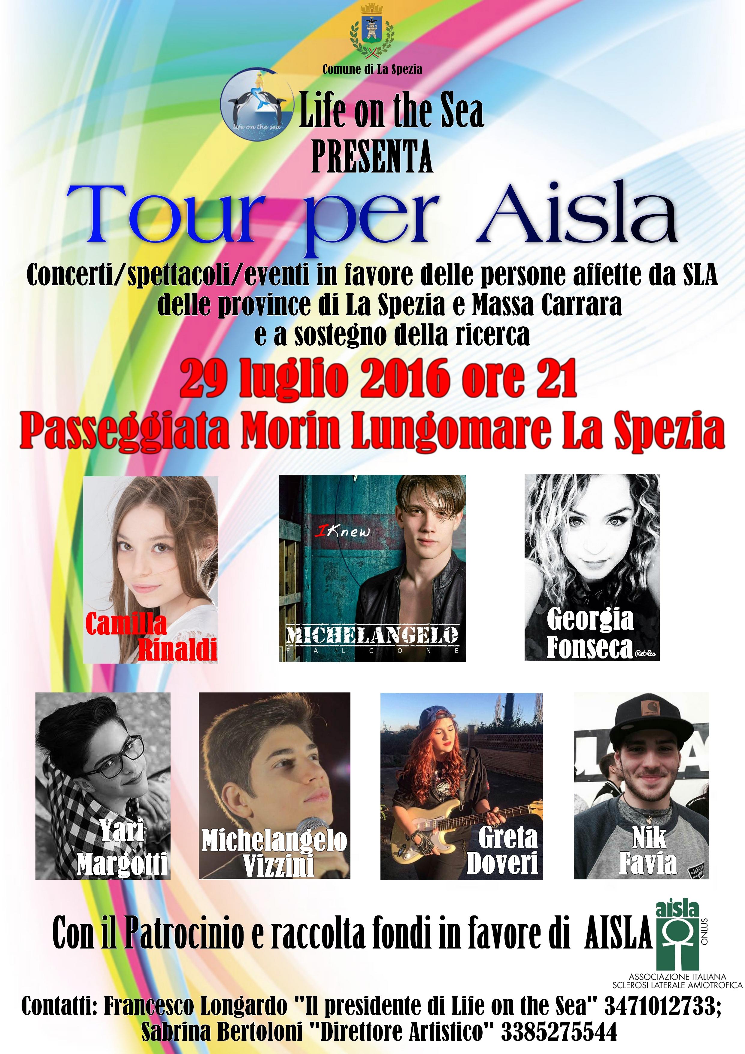 6° Tour Raccolta Fondi AISLA