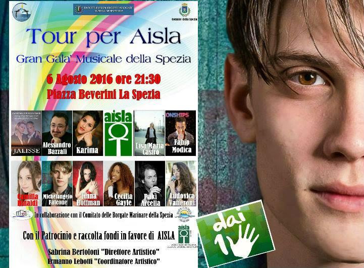 8° Tour Raccolta fondi AISLA
