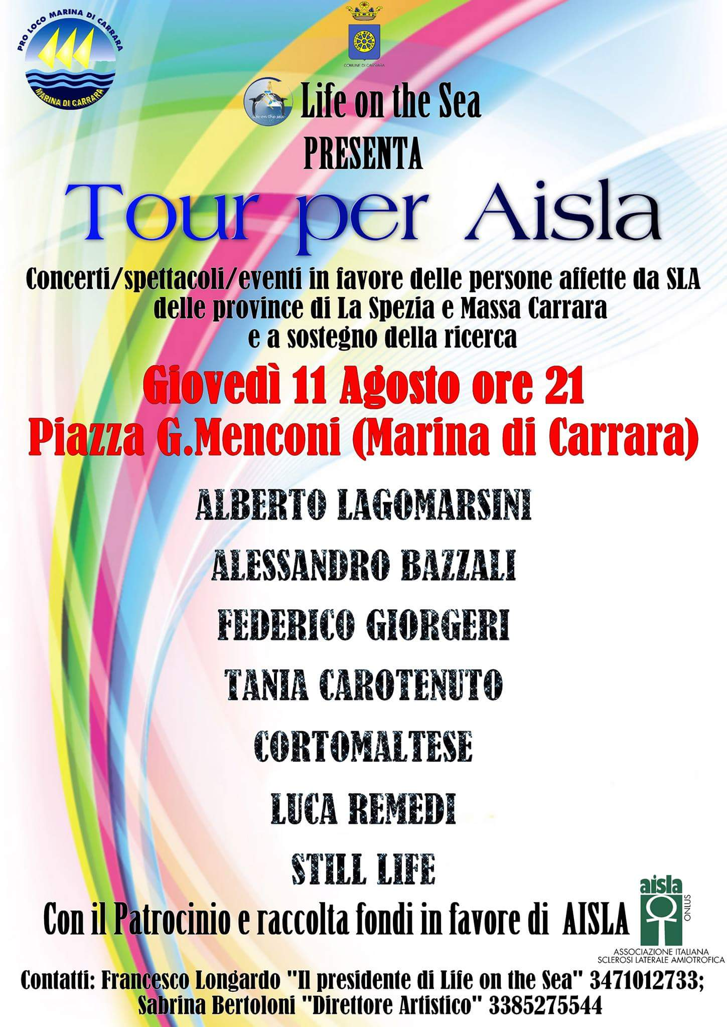 9° Tour Raccolta fondi AISLA